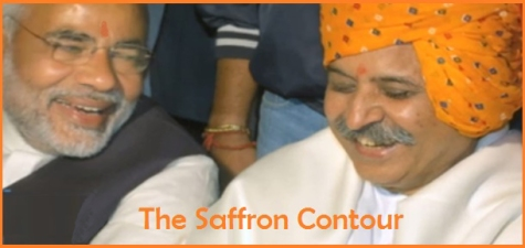 The Saffron Contour