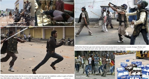 Hederabad Riot Snippets