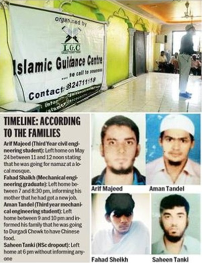 ISIS: Indian Connection. Photo Courtesy: TOI.