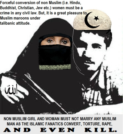islamic oppression and conversion of women