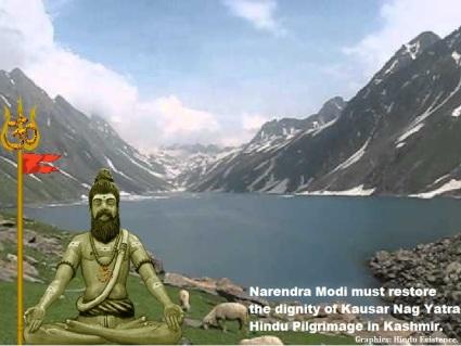Restore the Dignity of Kausar Nag Hindu Heritage Yatra