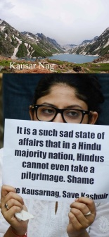 Save Kausarnag Pilgrimage