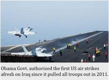 US stikes on ISIS