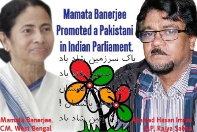 Sending Pro Pak Parliamentarian in India by TMC
