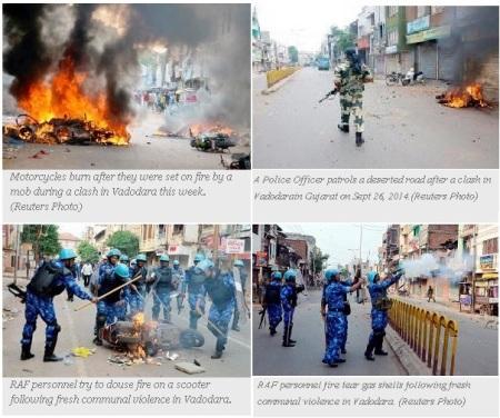 Vadodara Hindu-Muslim Riot Sept 2014