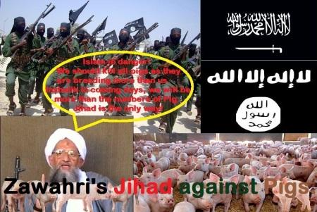 Zawahri's Jihad against Pigs