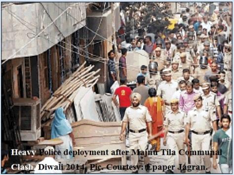 Majnu Tila Communal Clash