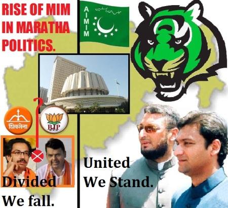MIM in Maratha Politics.