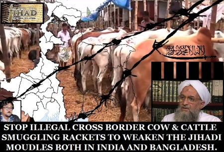 Stop Cattle Smuggling to fuse Jihad alias Islamic Terrorism.