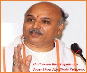 Togadia in a Press Meet.