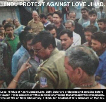 Hindu Protest against Love Jihad