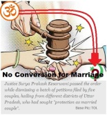 No Conversion Marriage