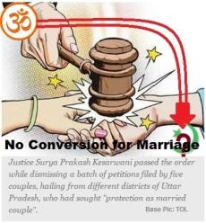 No Conversion Marriage