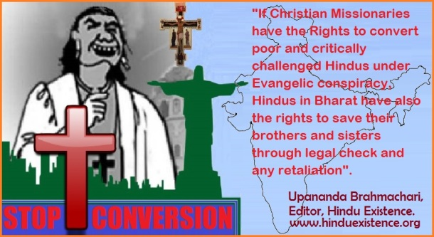 Save Hindus from Christian Conversion