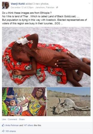 Tears of Thar Hindus in Pak