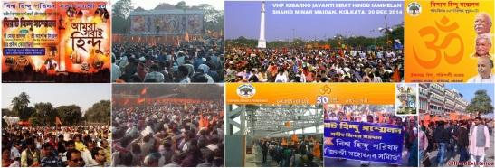 VHP Virat Hindu Sammelan - Kolkata - 20 Dec 2014..