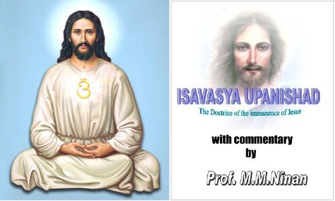Image result for Isavasya Upanishad Christ picture