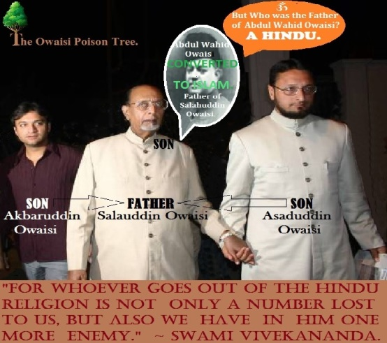 The Owaisi Poison Tree..