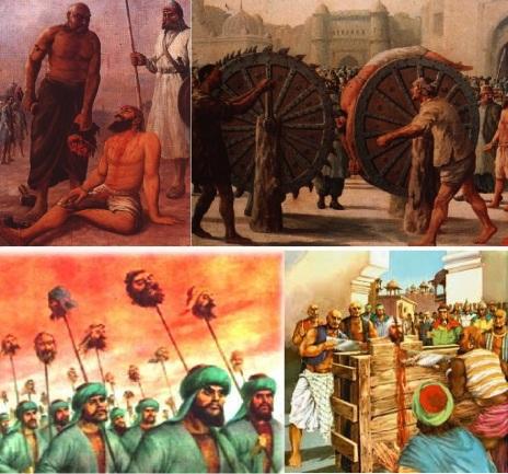 Image result for hindu genocide under mughals