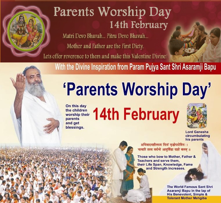 Hindu hardliners to discard open love show in V-Day on 14 Feb. Recommend  Parents Worship Day. | Struggle for Hindu Existence
