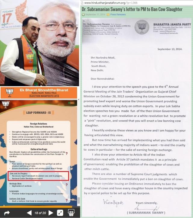 Swami to Modi