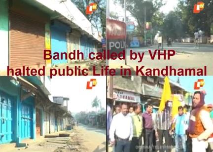 Bandh in Kandhmal