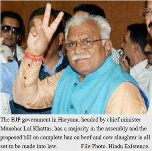 Beef Ban in Haryana