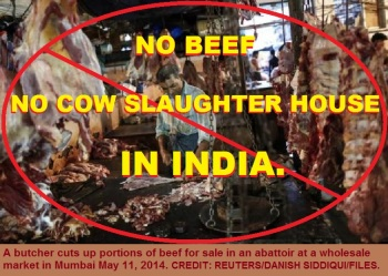No Beef No Cow Slaughter House in India