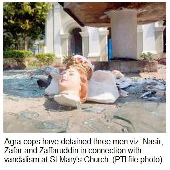 Agra Church attack