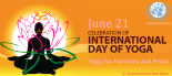 International Yog Day- June 21