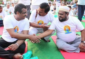 Yoga unites, not divides.....