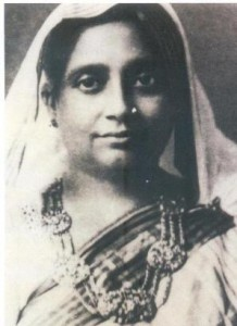 Jogmaya Debi ~ Mother of Dr S P Mookerjee.