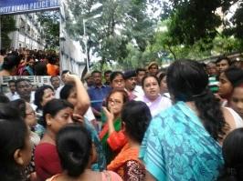 BJP PROTEST FOR TUKTUKI