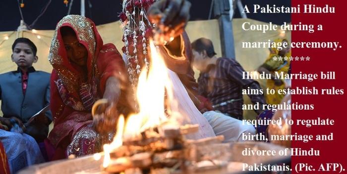 Hindu Marraige Bill in Pakistan