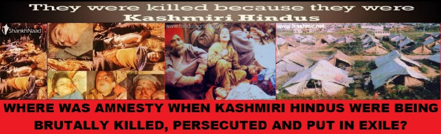 Kashmir Hindus Denied by Amnesty