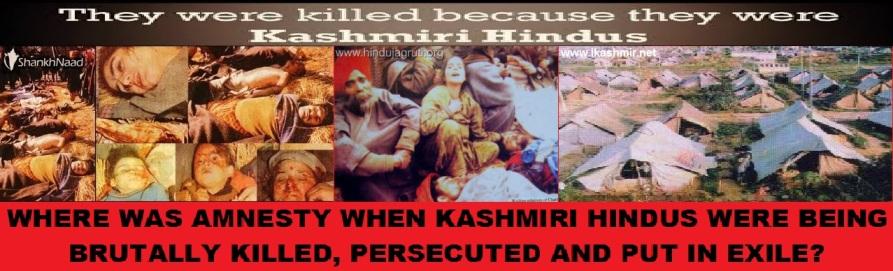 Kashmir Hindus Denied by Amnesty