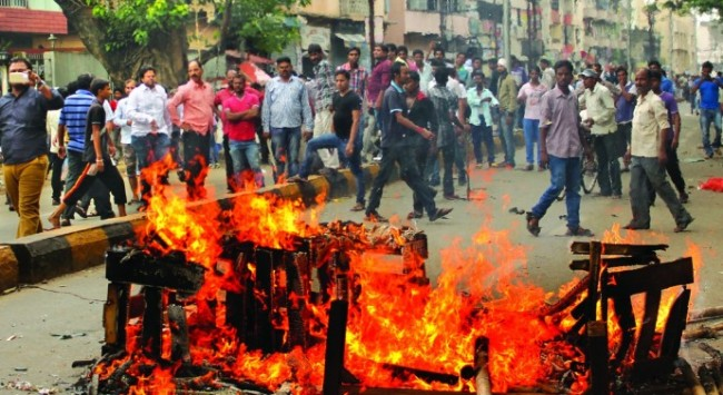 VHP Jamshedpur bandh receives spontaneous response. Thousand participated. (Source: Avenue Mail).