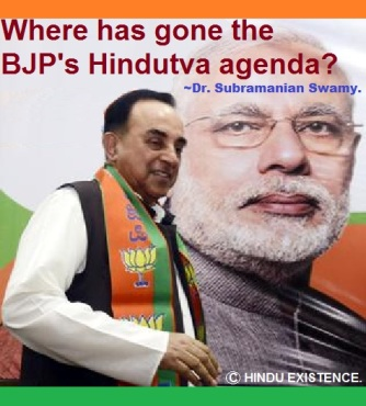 Where has gone the BJP's Hindutva agenda