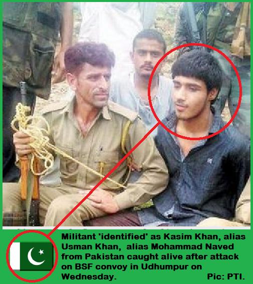Kasim Pak Terrorist nabbed