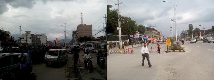 Kathmandu in Tension 1
