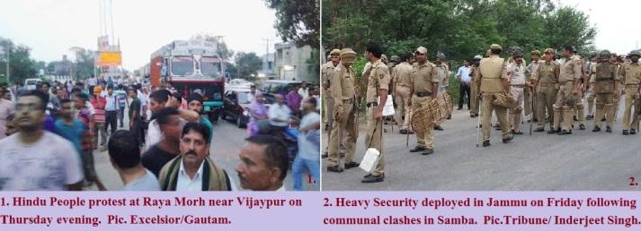 Samaba Hindus uproar