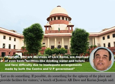 Swamy at Supreme Court