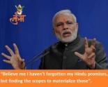 Modi Promises