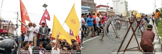 nepal hindu agitation 1