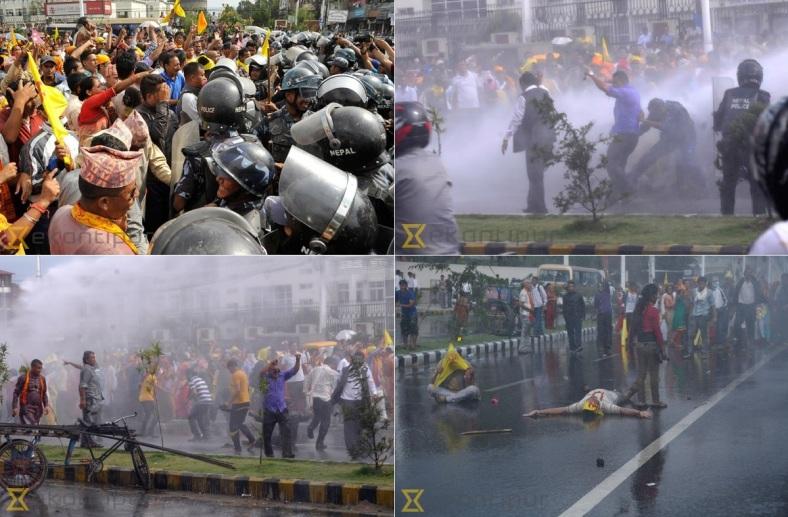 Nepal Hindu Rashtra march Sept 1