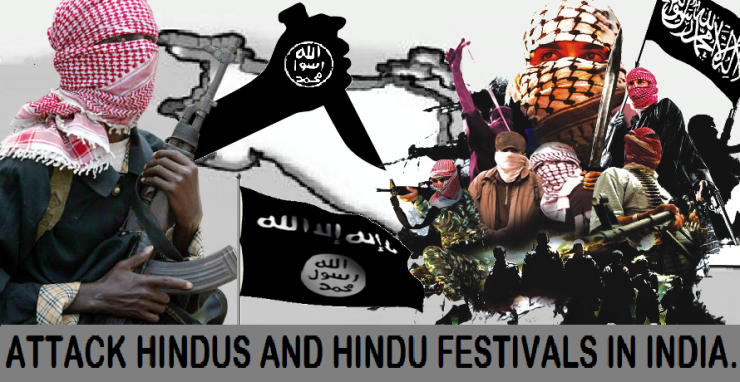 Attack Hindus and Hindu Festivals in India