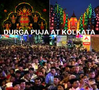 Durgapuja at Kolkata
