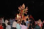 Durgapuja Visarjan in Kolkta