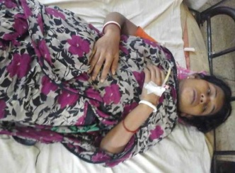 Profuse bleeding caused the critical condition of Tulshi, her baby died in womb.