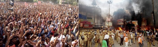 Varanasi Hindu Protests